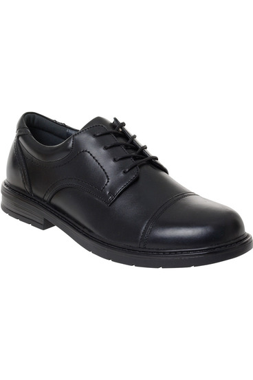 Hush pup darwin leather lace up