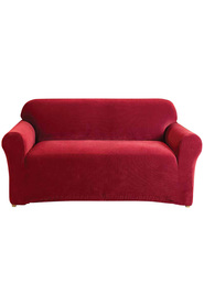 Sure fit couch cover 2 seater red