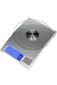SALTER  5Kg Lcd Glass Kitch Scale