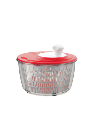 Davis & waddell salad spinner red
