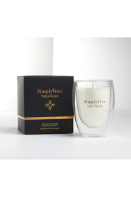 Simply vera candle glass 250g br&b