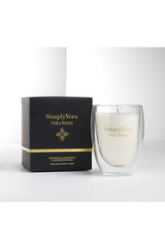 Simply vera candle glass 250g og&h