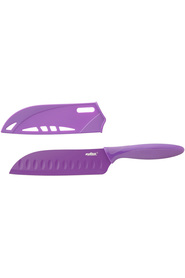 ZYLISS Santoku knife with safety cover pink 18cm