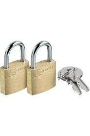 Go travel padlock case lock x2 171