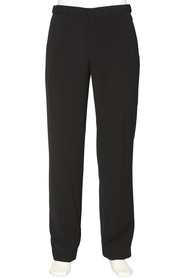 BRACKS Flat Front Stripe Trouser