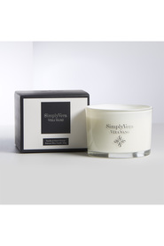 Simply vera candle silver 340g