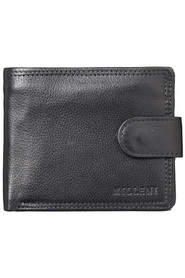 MILLENI Tab Wallet With Coin And Flap Up Window