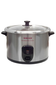 Singer 15 cup s/s rice cooker sirc15