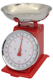 Smith & nobel mechanical scale 5kg red