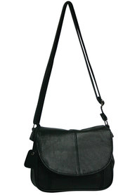 Viali leather flapover sling