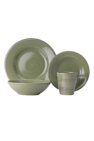 Cd porto olive dinner set 16pce gb