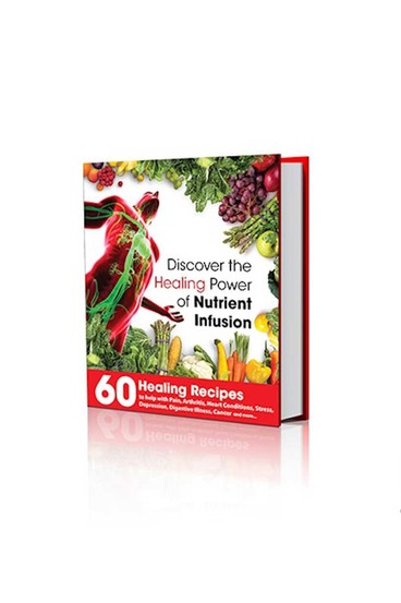 Nutri infusion healing power recipe book