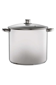 DAVIS AND WADELL Essentials stainless steel stock pot 30cm/16.5l