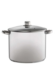 DAVIS AND WADELL Essentials stainless steel stock pot 28cm/14l