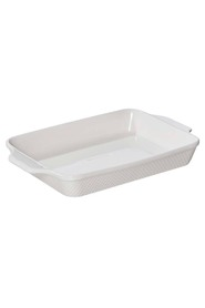 SMITH & NOBEL  White essentials rectangle baker 39cm