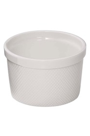 SMITH & NOBEL  White essentials ramekin 10cm