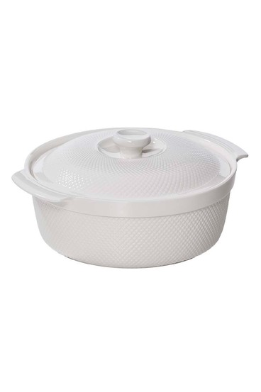 S+n white essentials rnd casserole 3.3l