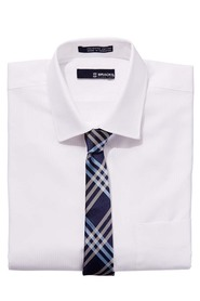 BRACKS Self stripe shirt