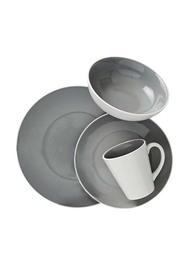 SOREN Modere 16 Piece Dinner Set Grey