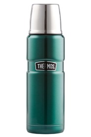 THERMOS  470Ml stainless steel king vaccumn flask green