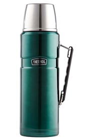 THERMOS  2L stainless steel king vaccumn flask green