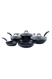 SMITH & NOBEL 5Pc  cuisine forged cast aluminium cookset