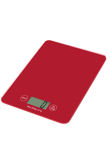 Smith and nobel kitchen scale 5kg red