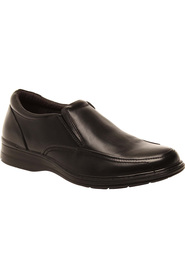 HUSH PUPPIES Transport Wide Leathr Slip On