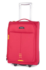 Paklite feather 2wd trolley case red