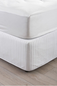 Bed Valances, Skirts & Wraps | Harris Scarfe : quilted bed valance - Adamdwight.com