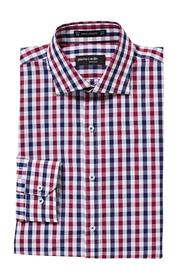 PIERRE CARDIN Gingham check shirt