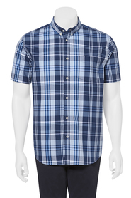 Highlander ss check shirt 06hs385