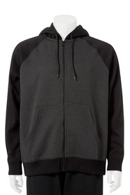 URBAN JEANS CO Yarn Dye Zip Thru Hoody