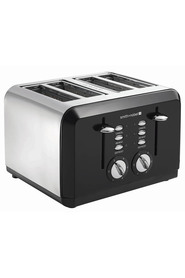 SMITH & NOBEL 4 Slice Toaster Black