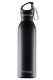 Thermos s/s single wall drink bottle blk