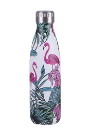 AVANTI  500Ml stainless steel printed bottle flamingo