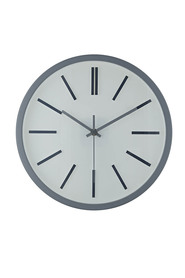 Soren medium wall clock light grey 31cm