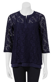 SAVANNAH LACE TUNIC