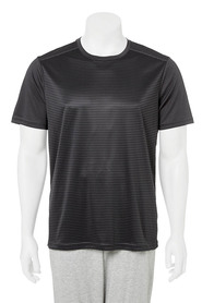 NIC MORRIS Mens Stripe Active Tee