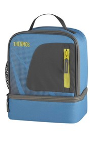 Thermos Radiance Dual Lunch Case in Blue