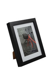 Lifestyl brand icon 6x8 w/open blk frame