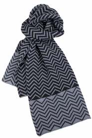 Dents zig zag knit scarf 72-0015
