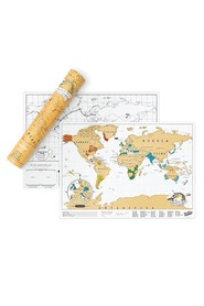 LUCKIES SCRATCHMAP TRAVELEDITION IS10007
