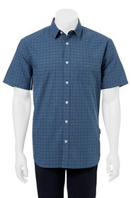 BRONSON Check short sleeve shirt