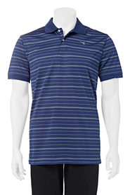 DIADORA Mens performance striped polo