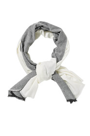 Savannah contrast panel scarf x7sas234