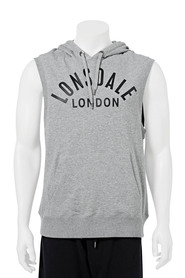 LONSDALE M AITOR SLEVLESS HOOD LE745SLH