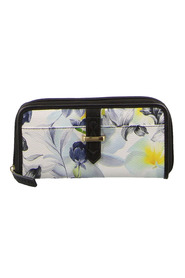 MILLENI FLORAL ZIP AROUND WALLET C2376