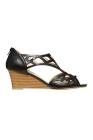 KHOKO Camilla zip back wedge heel