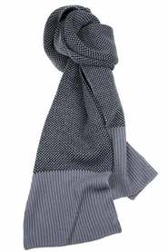 Dents contemporary knit scarf 72-0013